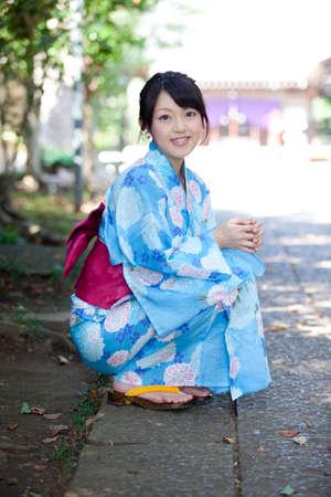 get dressed: Women yukata