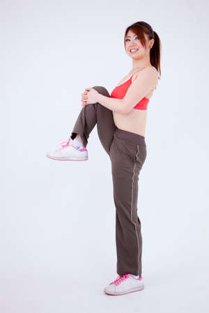 body dimensions: Woman and exercise