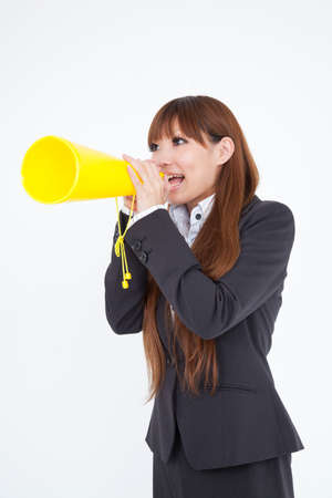OL have a megaphone photo
