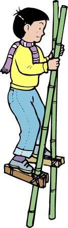 stilts: Stilts Stock Photo
