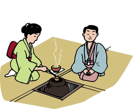 tea ceremony: First tea ceremony of New Year