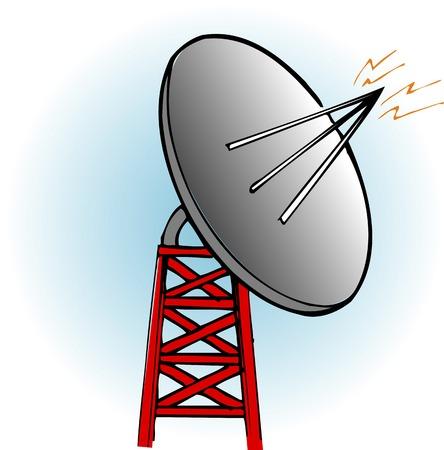 radio waves: Radio waves of the day Stock Photo