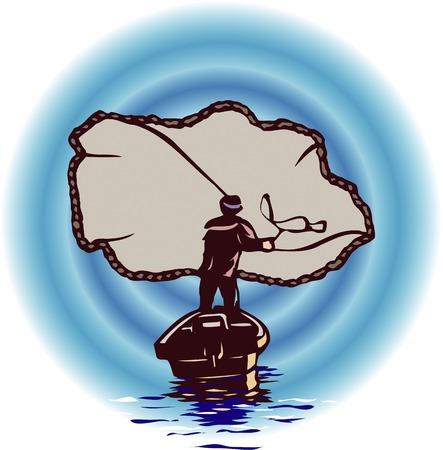 fisheries: Cast net