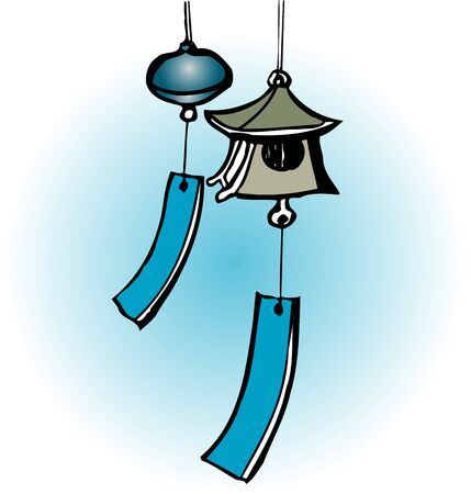 miscellaneous goods: Wind chimes