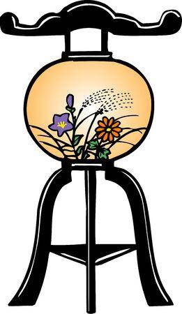 bon: Bon Lantern Stock Photo