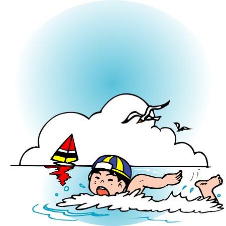 bathing: Sea bathing