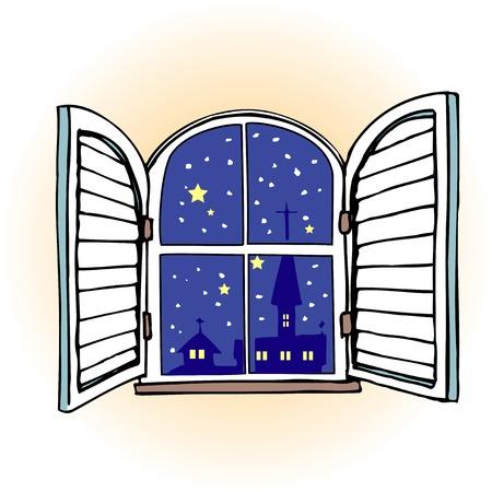 window treatments: Window treatments Stock Photo