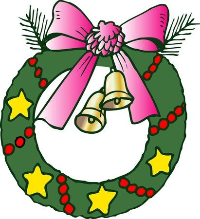 belle: Christmas wreath