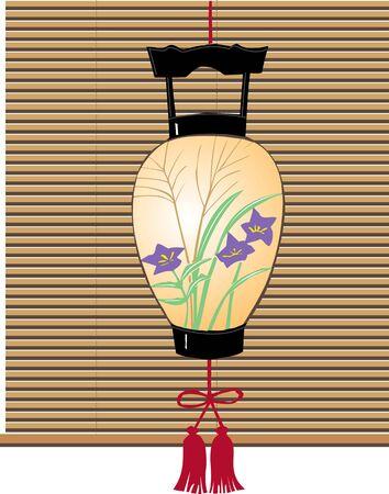 annual events: Lanterns Stock Photo