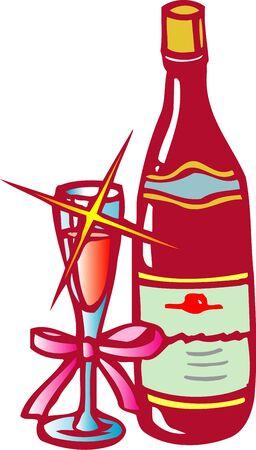 rice wine: Wine Stock Photo