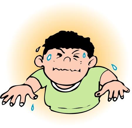 sweating: Discomfort index