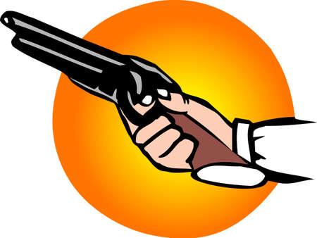 meet up: Man holding shotgun
