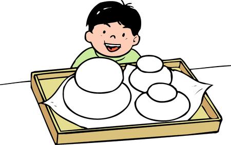 offerings: Offerings rice cake