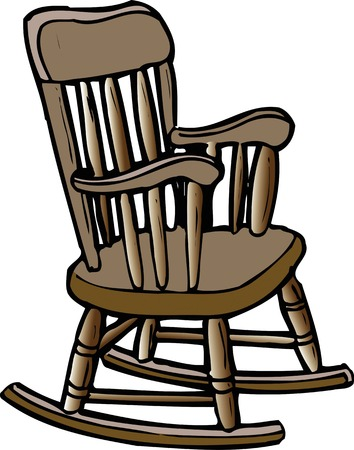 1 617 rocking chair stock vector illustration and royalty free rh 123rf com old rocking chair clipart old rocking chair clipart