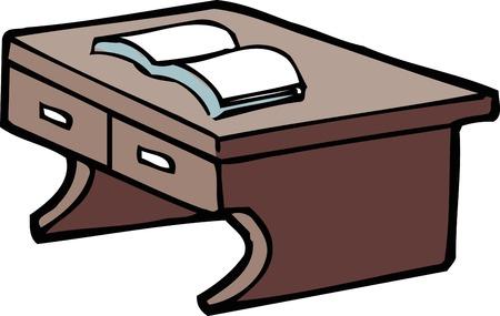 desk: Writing desk