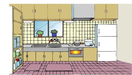 cold storage: Kitchen