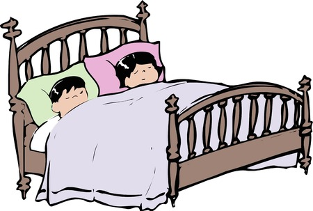 double bed: Double bed