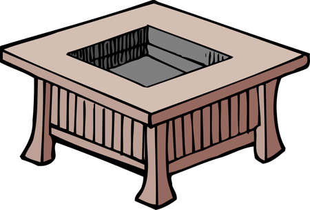 furnace: Furnace with table