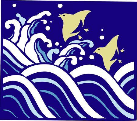 omen: The zigzag in wave