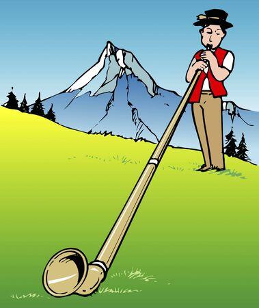 Alps Horn