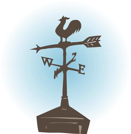 weathercock: Weathervane