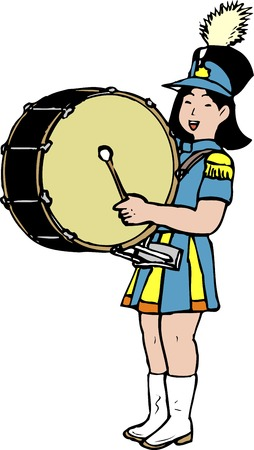fife: Drum and fife band