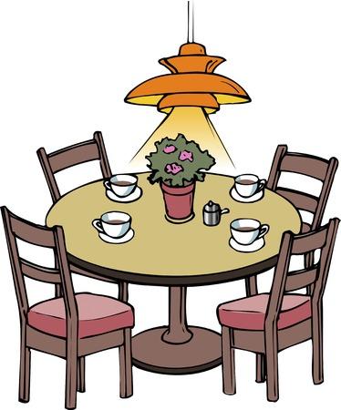Dining table Zdjęcie Seryjne