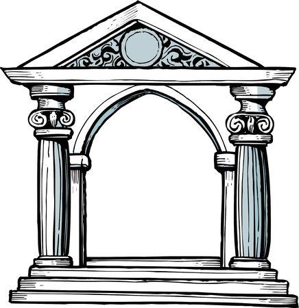 ギリシャの寺院