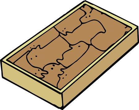 木のジグソー パズル