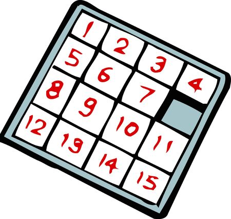 numbers: Numbers game Stock Photo