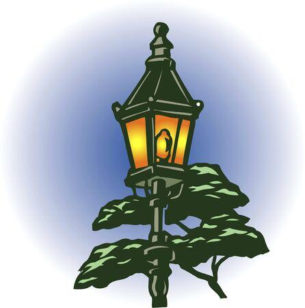 streetlight: Gas light