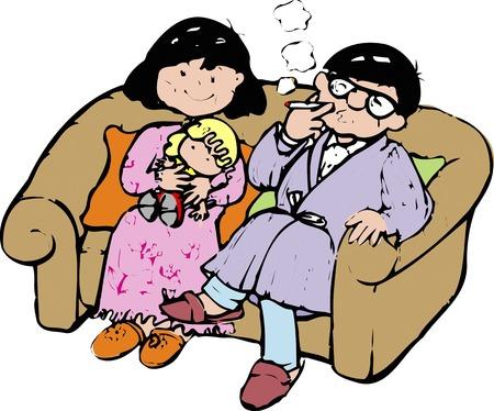 loosen up: Sofa