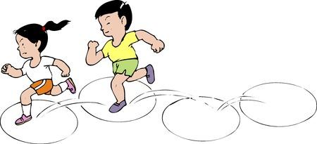 schoolyard: Wheel jump