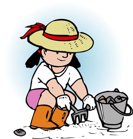 clam: Clam digging