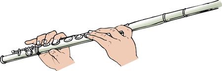 flutes: Flute Stock Photo