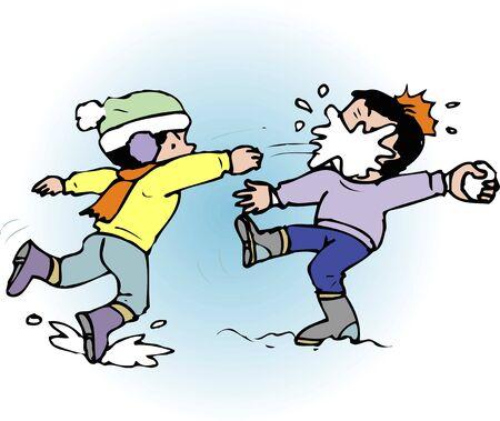 snowball: Snowball fight