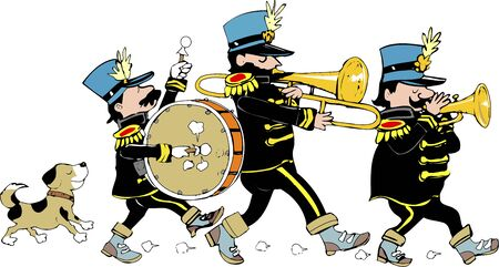 Marching band 版權商用圖片