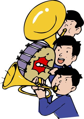 brass  band: brass band