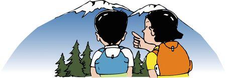 mountaintop: Summit