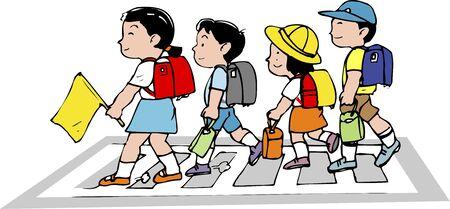schoolwork: Pedestrian crossing