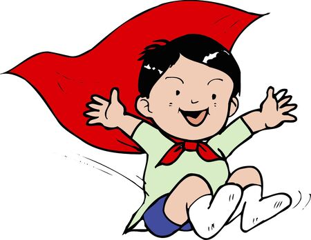 childcare: Jump Stock Photo