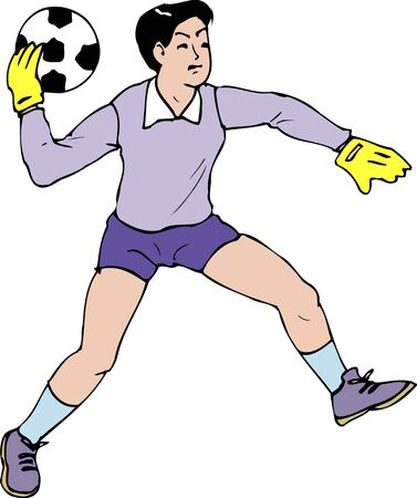goalkeeper: Goalkeeper