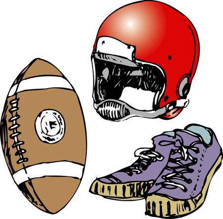 アメリカン フットボール機器