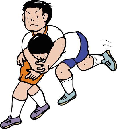 schoolyard: Wrestling Gokko