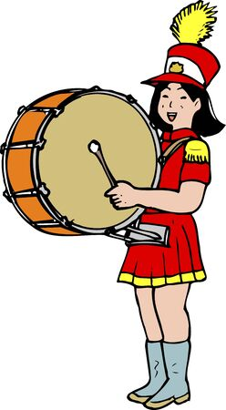 marching band: Bass drum