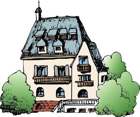 habitation: European house