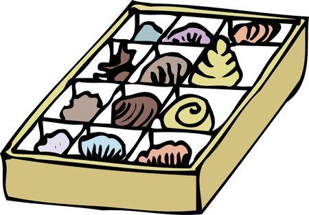 shellfish: Samples of shellfish Stock Photo