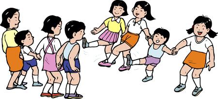 schoolyard: Hana Ichi Monme