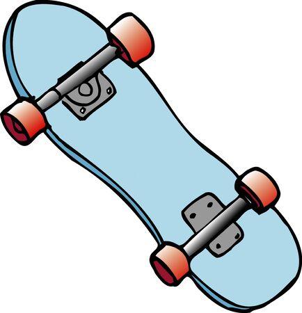 the equipment: Skateboard equipment Stock Photo
