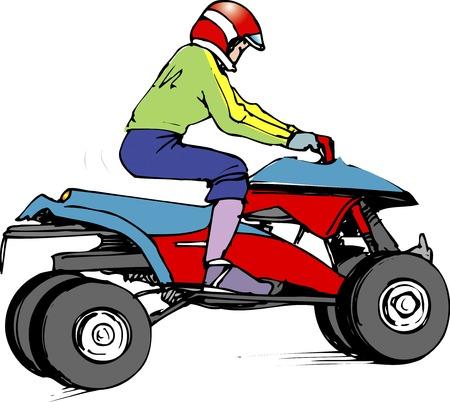 atv: 4-wheel ATV
